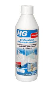 HG Универсальное чистящее средство для ванной и туалета купить оптом