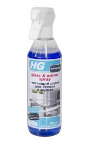HG Чистящий спрей для стекла и зеркал купить оптом