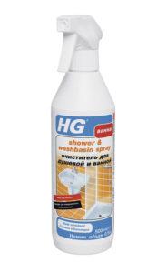HG Очиститель для душевой и ванной купить оптом