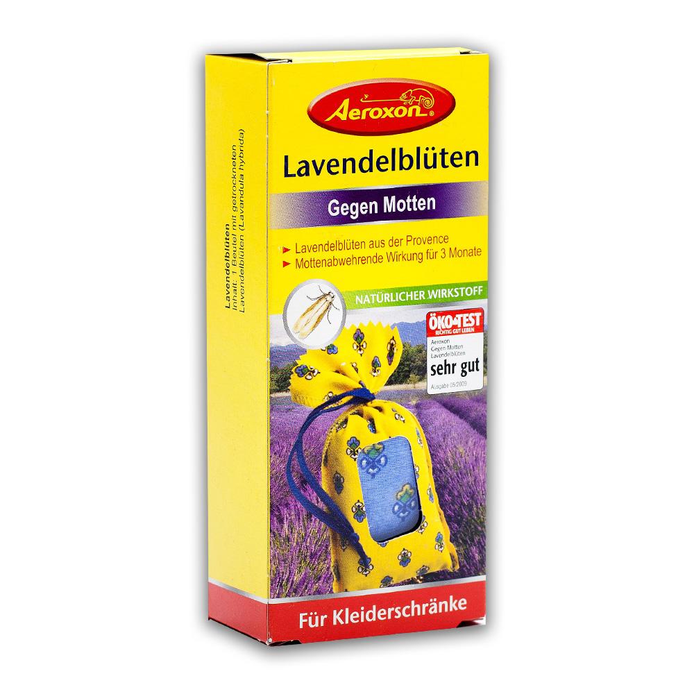 Aeroxon Натуральная защита от моли, мешочки с цветками лаванды купить оптом