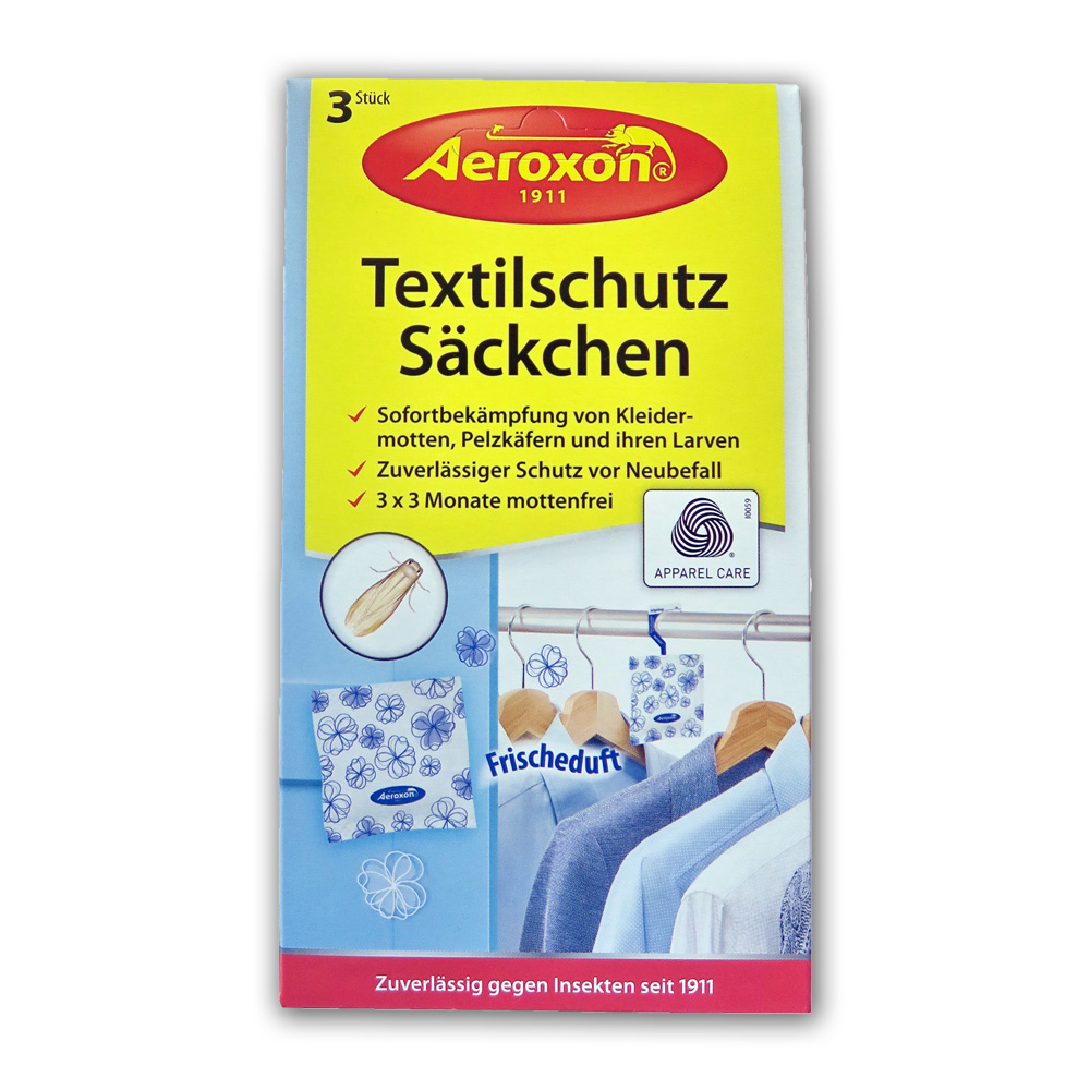 Aeroxon Натуральная защита от моли, мешочки с цветочным ароматом купить оптом