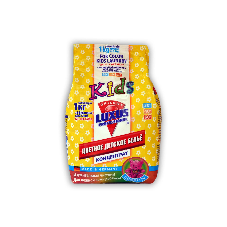 Luxus Professional Универсальный стиральный порошок для цветного детского белья купить оптом