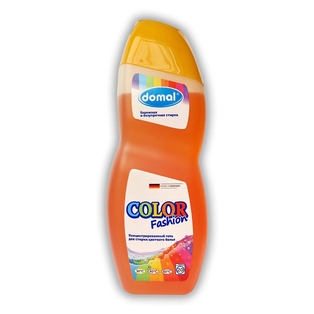 Domal Color Концентрированное средство для стирки цветного белья с новой активной формулой защиты цвета купить оптом