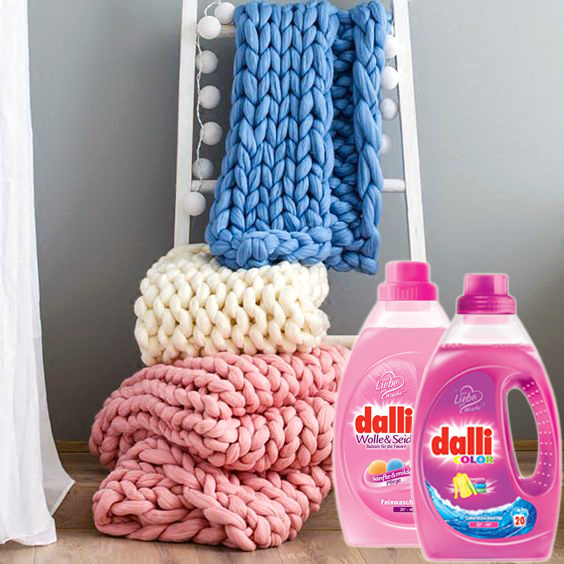 стиральные порошки и гели Dalli купить